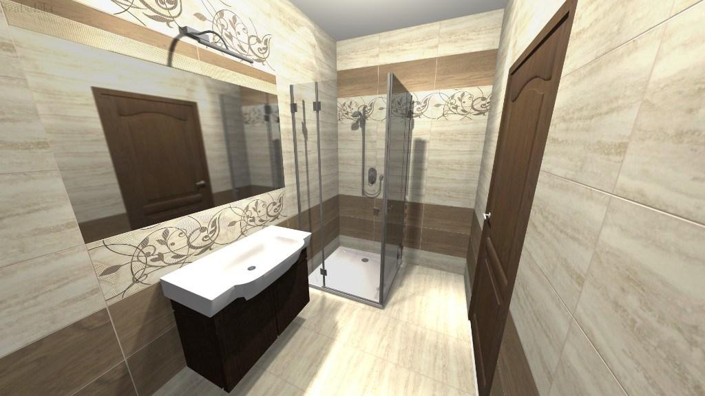 Zdjęcie projekt łazienki Szabelski nr 2