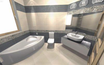Zdjęcie projekt łazienki Szabelski nr 3 400x250