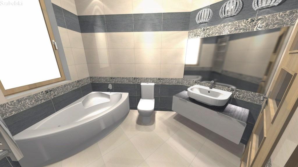Zdjęcie projekt łazienki Szabelski nr 3