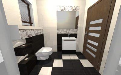 Zdjęcie projekt łazienki Szabelski nr 4 400x250