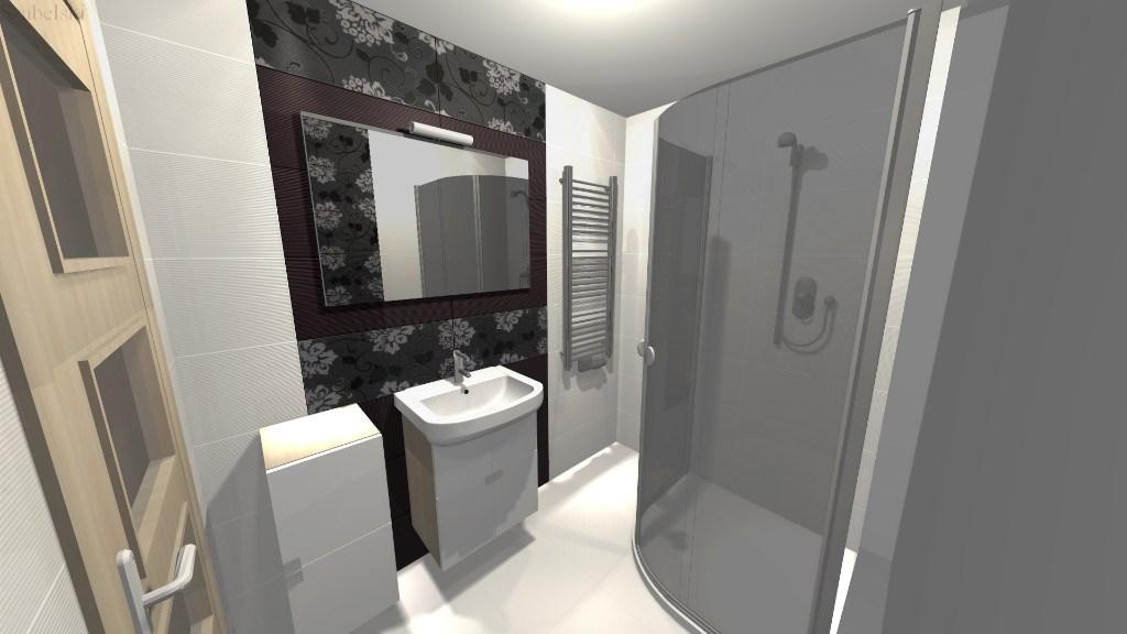 Zdjęcie projekt łazienki Szabelski nr 5