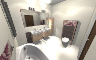 Zdjęcie projekt łazienki Szabelski nr 6 400x250