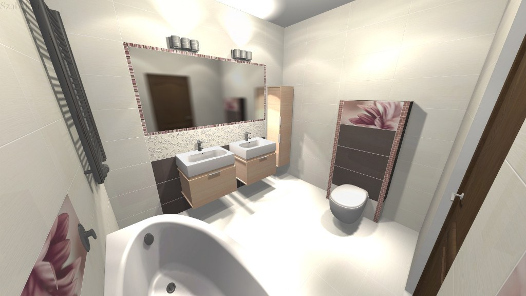 Zdjęcie projekt łazienki Szabelski nr 6